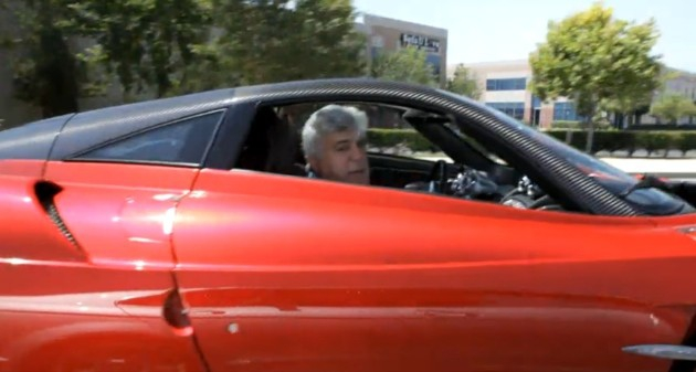 Jay Leno in a Car from Google Search