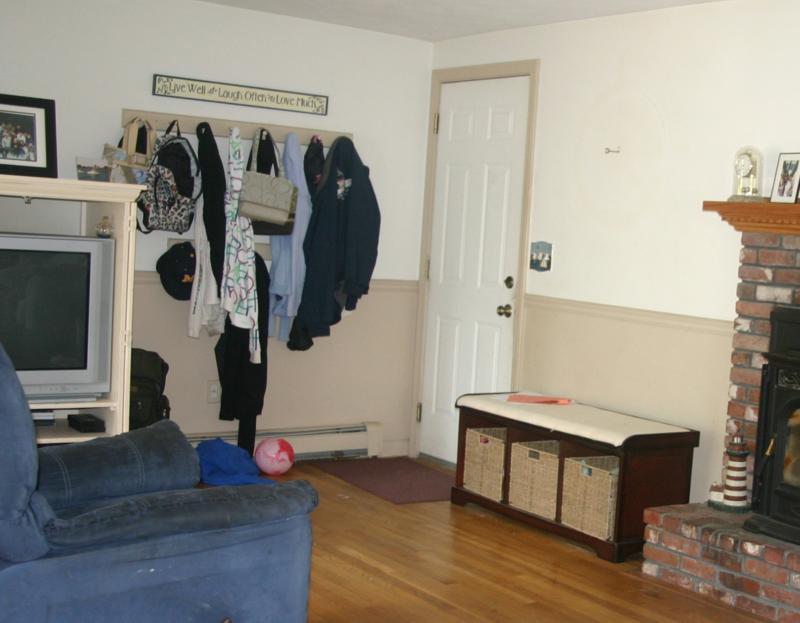 High Quality ... No Coat Closet. Entryway