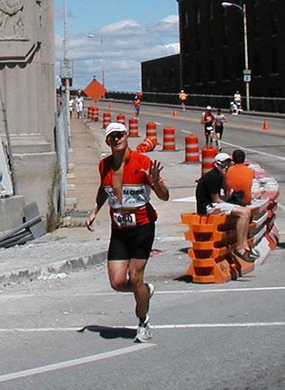 JOhn Vargo Ironman Run Start