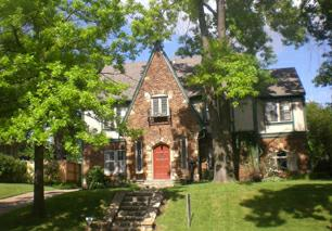Typical English style home in Terwilleger Heights