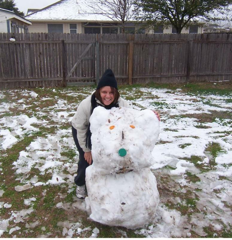 A Snow Day In Austin