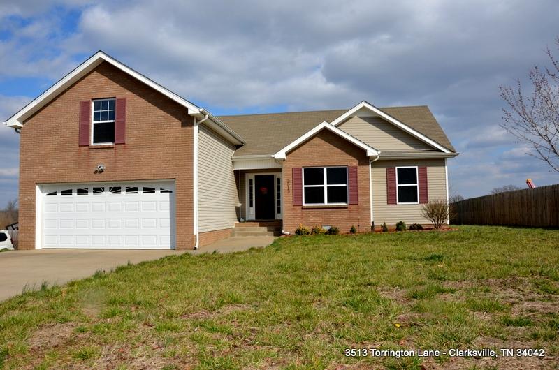 3513 torrnington lane clarksville tennessee 37042 home for Clarksville flooring