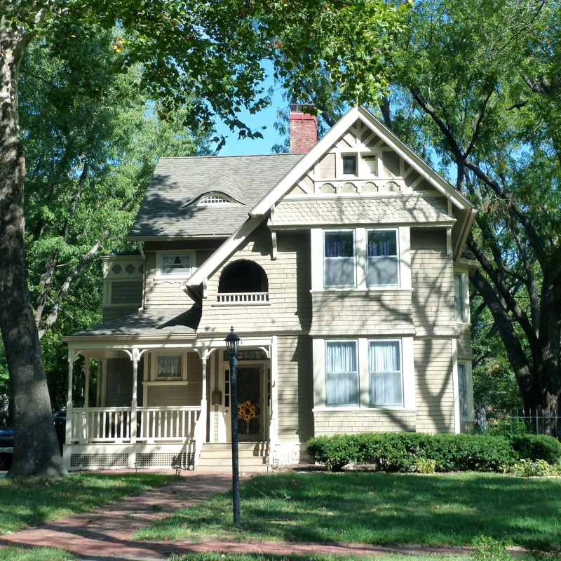 The Painted Ladies Of Topeka, Kansas: The Potwin Historic