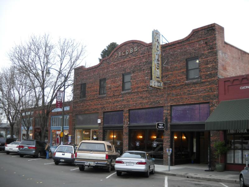Santa Rosa Re Built Itself From 1906 To 1915 And Added A New Architecture Of Brick Buildings That Were More Warehouse Style But Continued Serve The