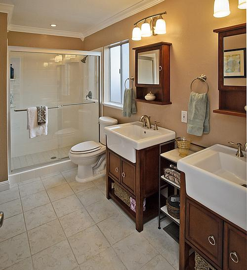Craftsman Style House Bathroom : Craftsman style homes in the mt carmel area of redwood city