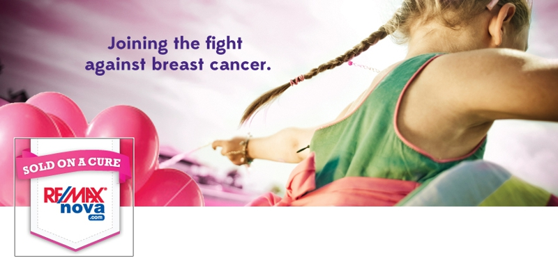 In support of the CIBC Run For The Cure - Remax Nova goes PINK!