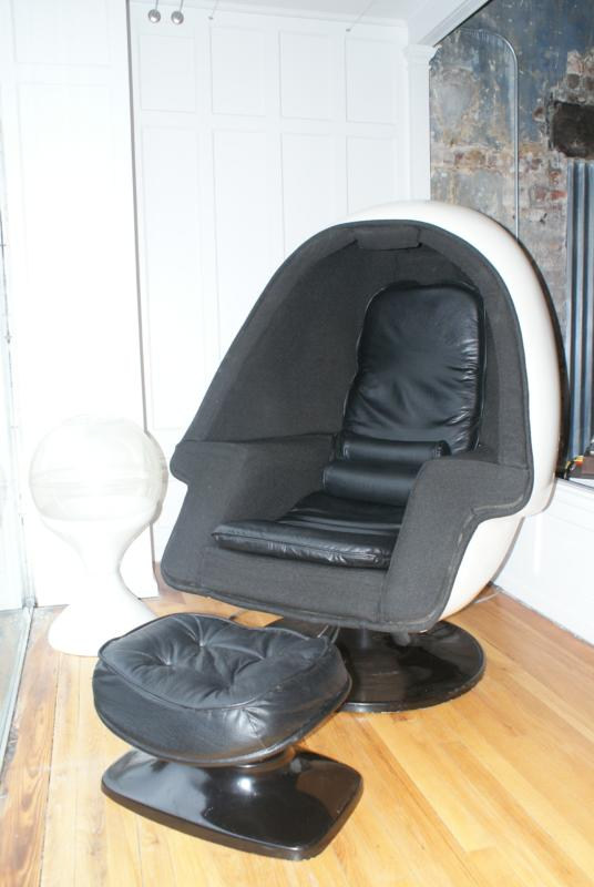 Vintage egg chair lands at groovy furniture in lynchburg va for 70s egg chair