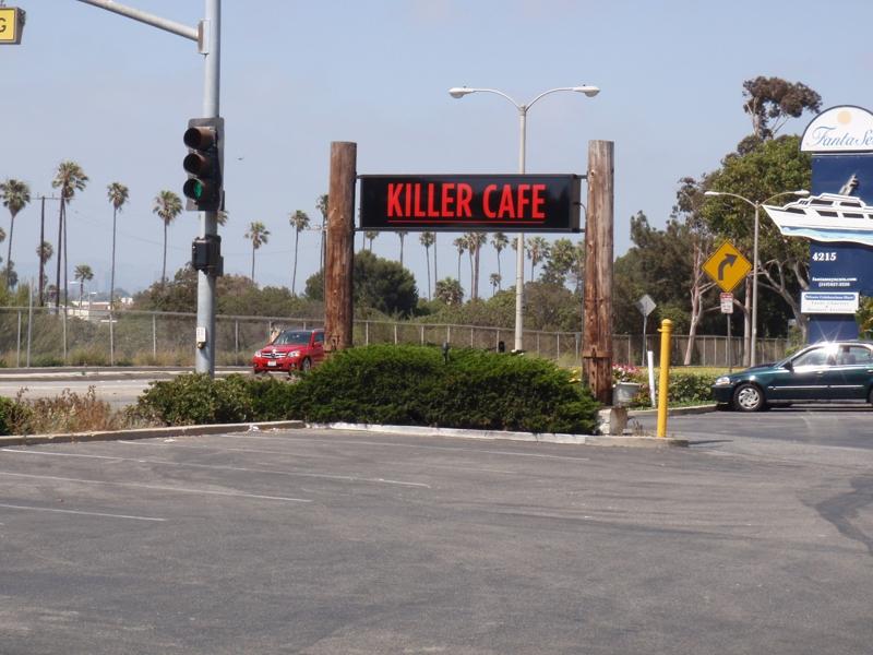 Killer Cafe in Marina Del Rey,CA Endre Barath
