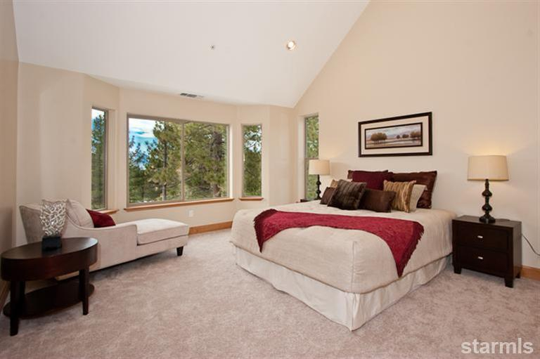 open house, 2347 cold creek, south lake tahoe, montgomery estates, custom, home, for sale, views, vaulted ceiling, master, suite, bedroom