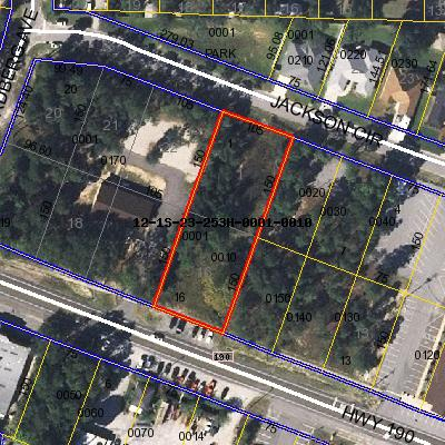 Valparaiso FL commercial lot