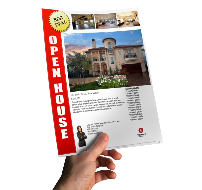 How TO Make A Last Minute Open House Flyer In Less Than 10 minutes – Open House Flyers