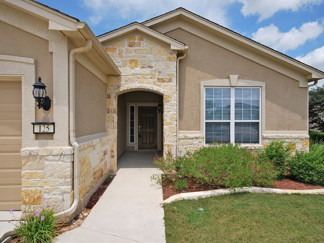 Stone And Stucco Homes Texas : Sun city texas homes for sale