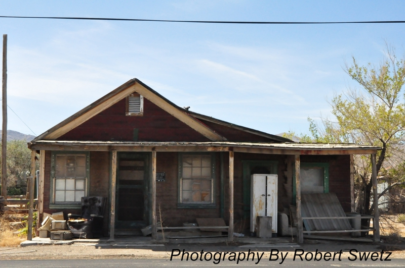 Haunted Buildings & Homes in Goldfield Nevada by Robert Swetz