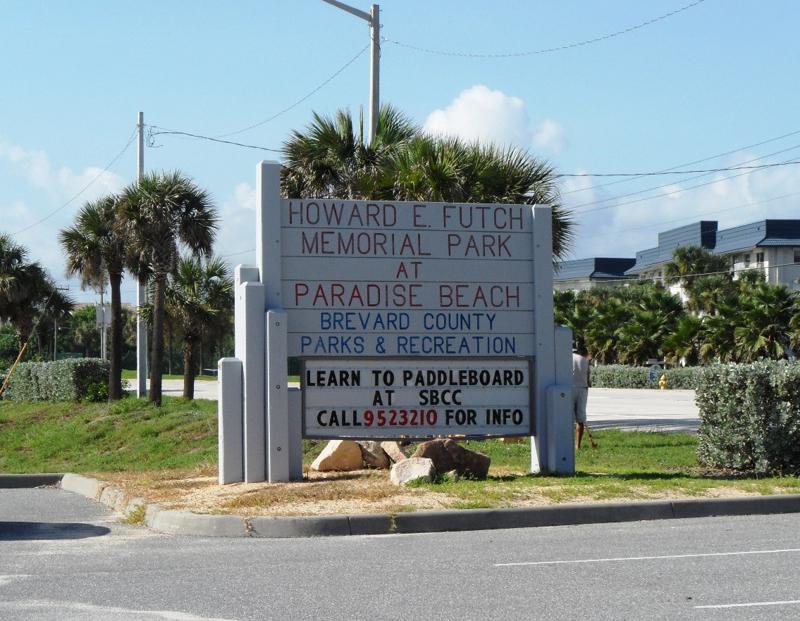 E Coast Parks Recreation Series Paradise Beach Park Indialantic Fl