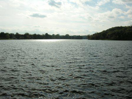 backwaters of thornapple river dam ada mi