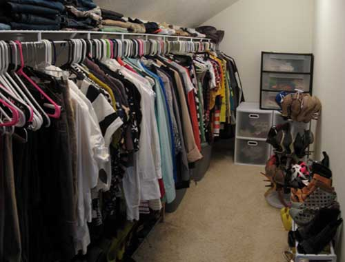 Closet After - View 1