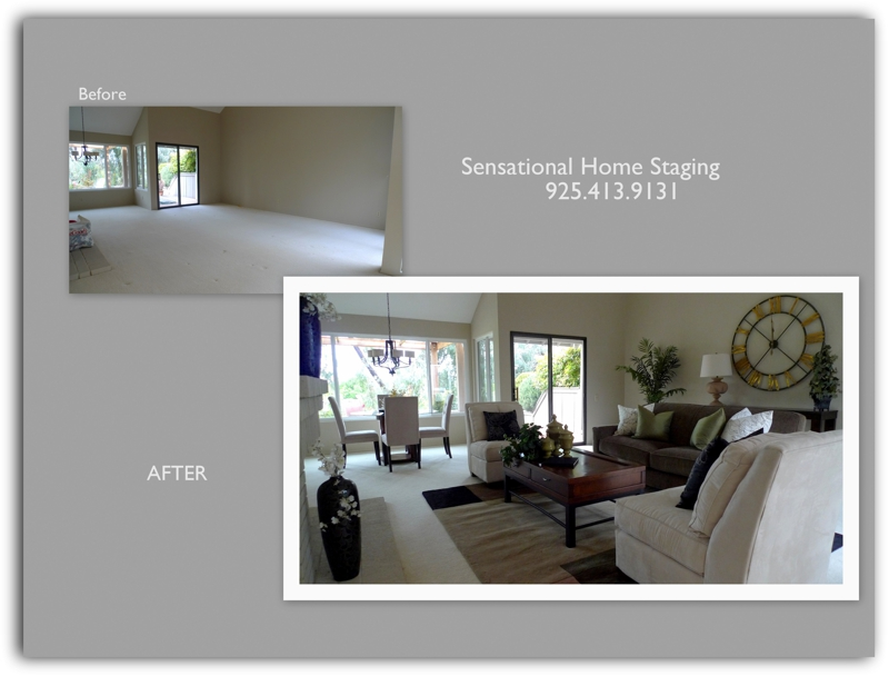 Danville Custom Home Staging