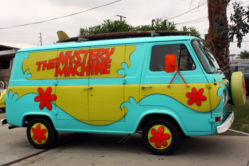The Mystery Machine Visits Costa Mesa