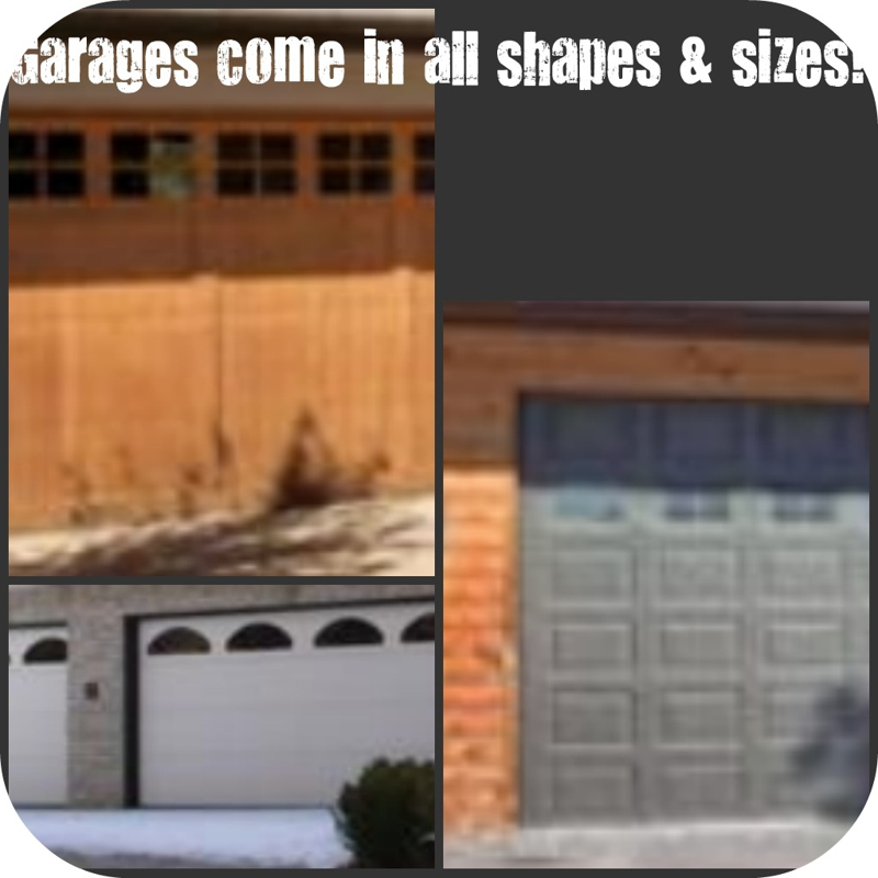 Garages in all shapes & sizes