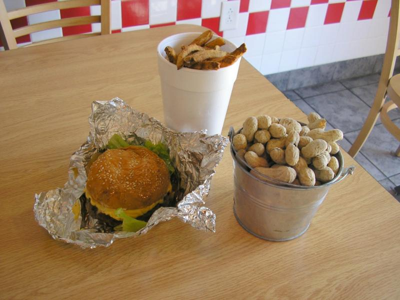 5 Guys Raleigh Best Places to Eat Burgers Lunch