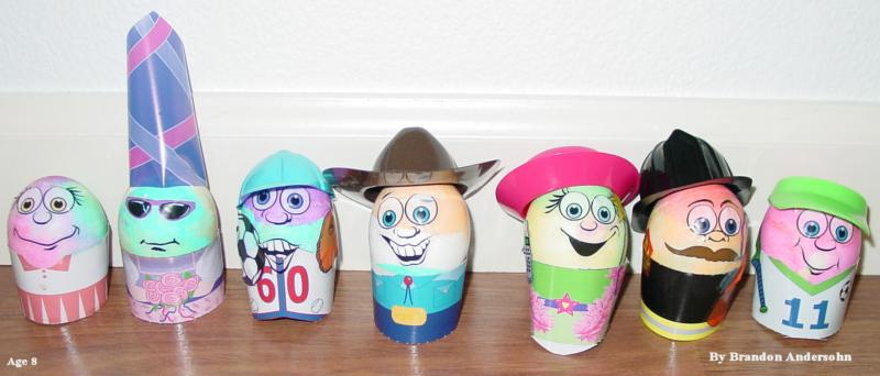Brandons Easter Egg Decorations
