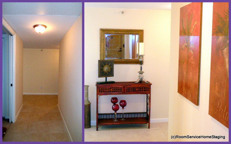 home staging before-entry