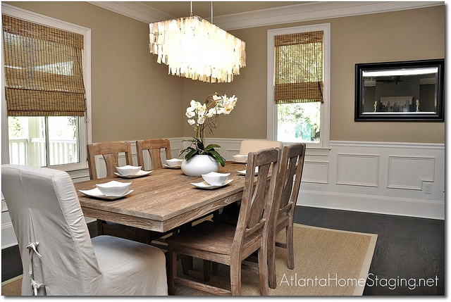 how to stage a dining room table | Should You Set Your Table When Selling Your Home?