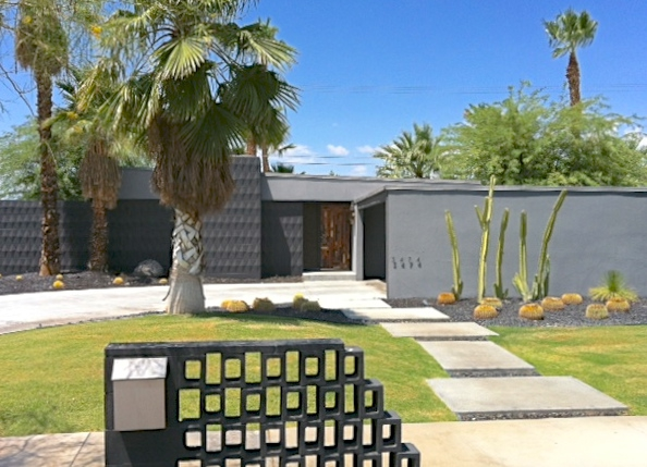 Just leased mid century modern homes in palm springs
