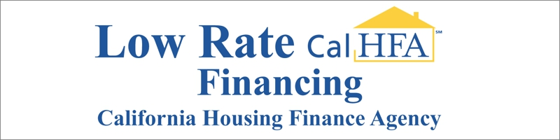 CALHFA Low Rate Financing Available