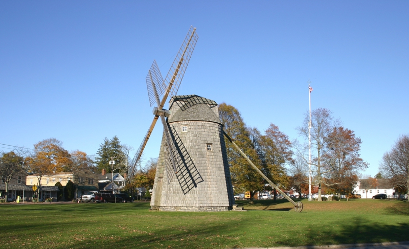 THE WIND MILL IN WATER MILL NEW YORK
