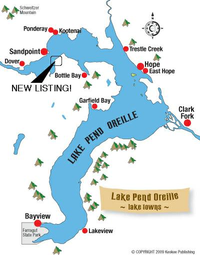 LAKE PEND OREILLE MAP