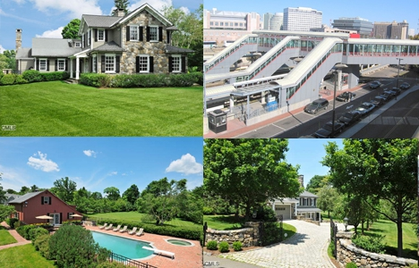 Stamford, Connecticut Homes for Sales, Scenes in town and train to nyc.