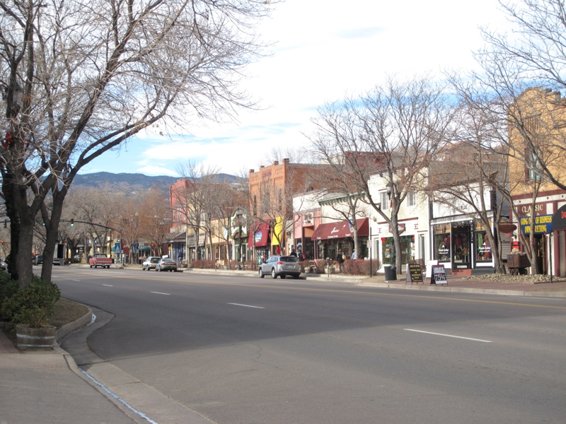 Old Colorado City Colorado Springs, shopping Colorado Springs, Tourist attractions