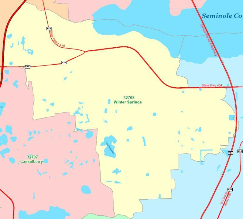 winter springs seminole county florida