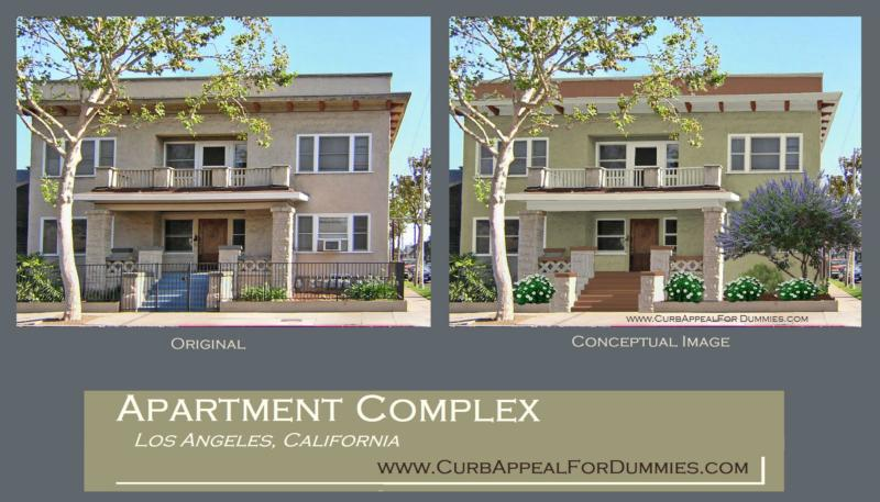 Awesome House Color Schemes Revealed   An Craftsman Apt. Complex In Los  Angeles Part 60