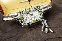 !950's Auto Just Married