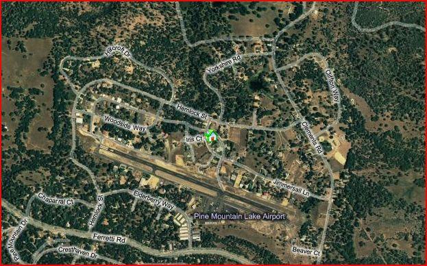 pine mountain lakes airport E45 california airport homes