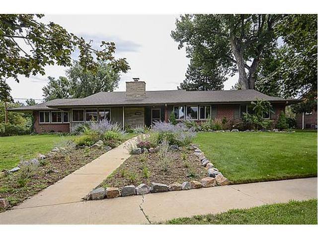 Mid Century Ranch historic homes of denver: fabulous mid century ranch sold!
