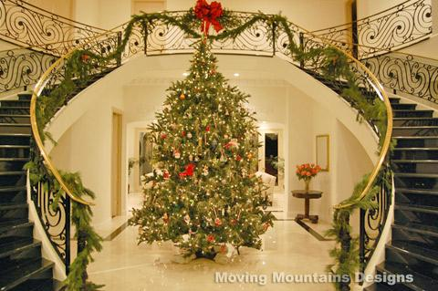 los angeles home staging decorating for the holidays