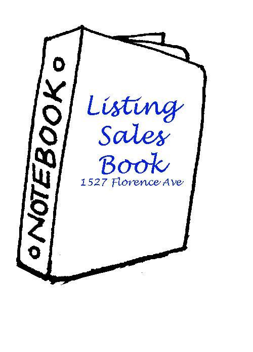 Lori Cain's Listing Sales Book