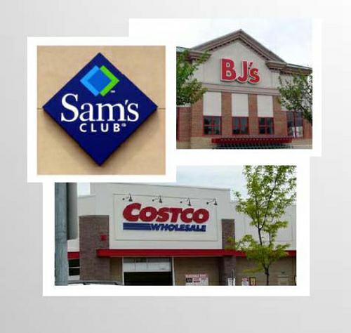 three major club stores in woodbridge va