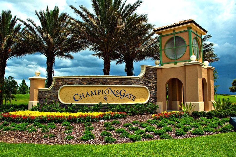Champions Gate Florida Villas For Sale