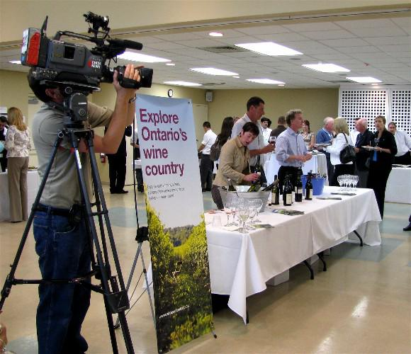 Wines of Ontario at A Taste of Burlington media launch