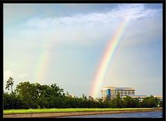 Rainbow over RESTON