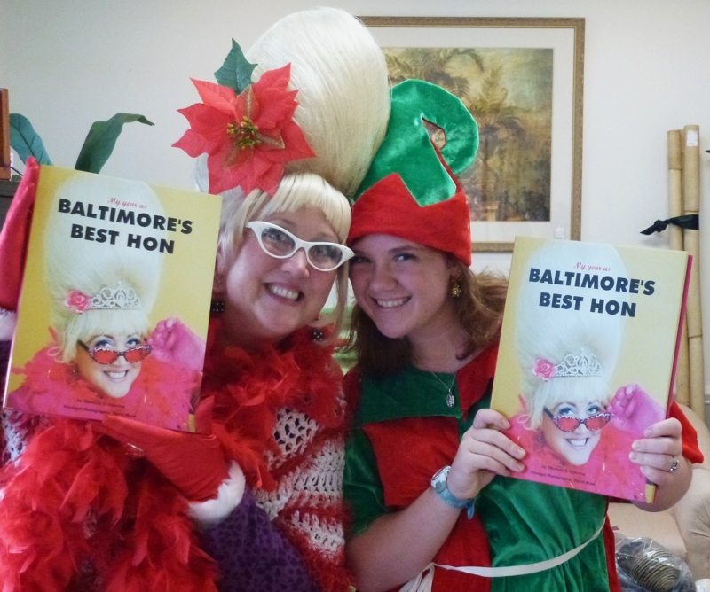 Baltimore's Best Hon Charlene and an elf
