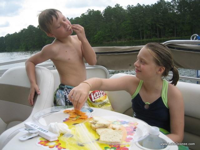 Lake Oconee Granchildren Fun