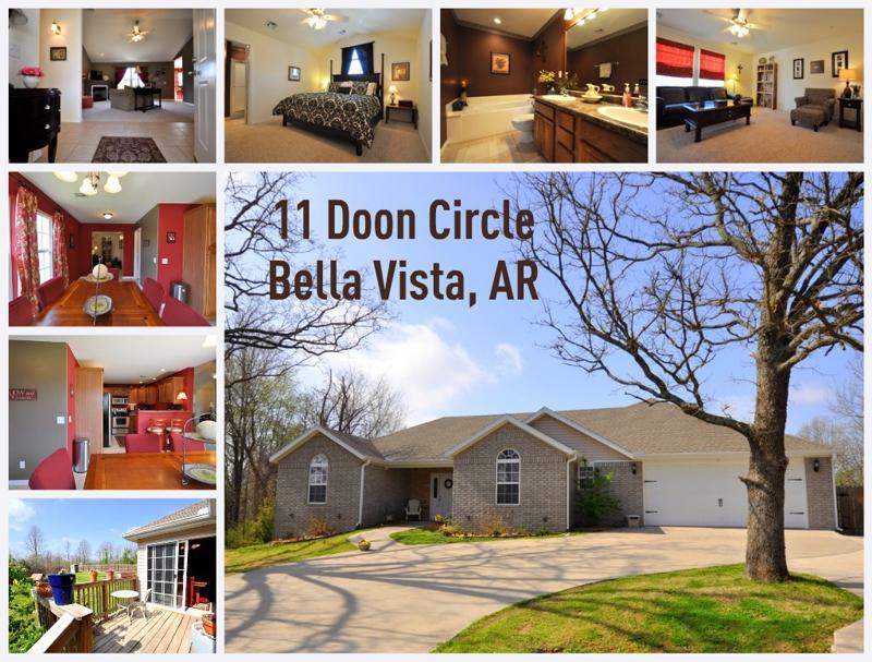 11 Doon Circle in Bella Vista, AR for sale
