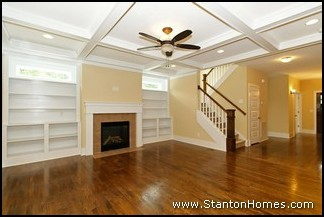 Custom Home Ceiling Styles | Custom Homes Raleigh