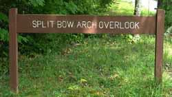 Big South Fork National Park: Split Bow Arch