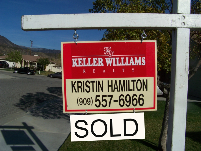 Sell your home with Kristin in San Bernardino/Riverside County